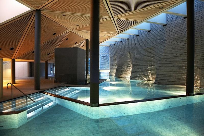 spa hotel Tschuggen Bergoase Svizzera
