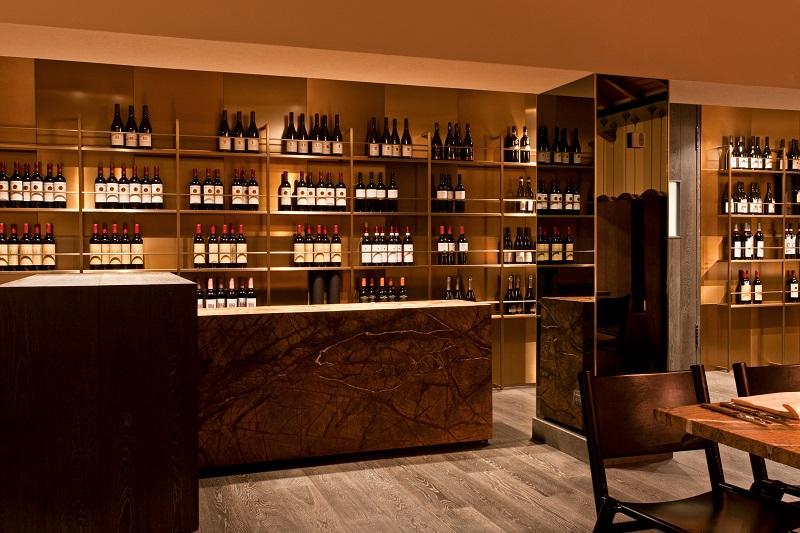 Collezione di vini dell'Hotel Alexander - Livigno