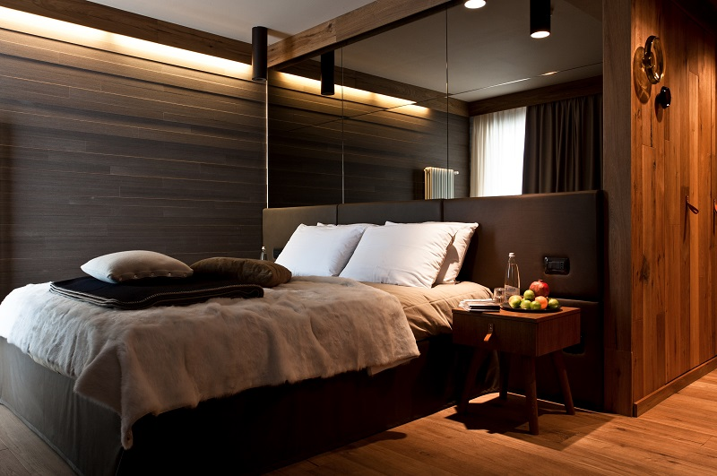Una camera dell'Hotel Alexander - Livigno