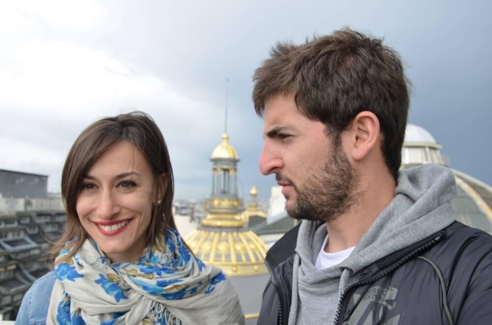 Gabriele Saluci e Sarah #SfidaLowCost