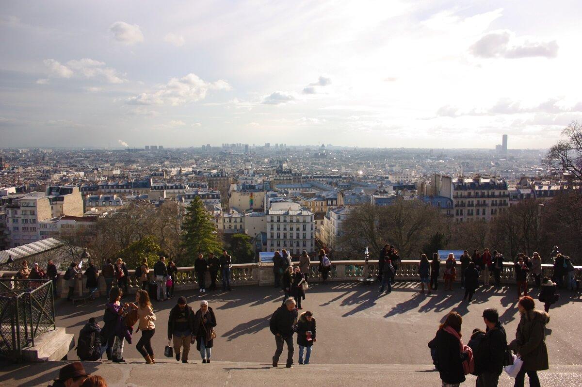 Scalinata del Sacro Cuore - Montmartre