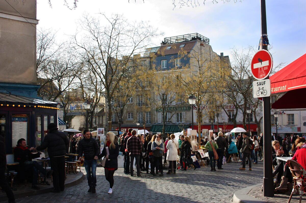 Place du Tartre - Montmartre - Parigi