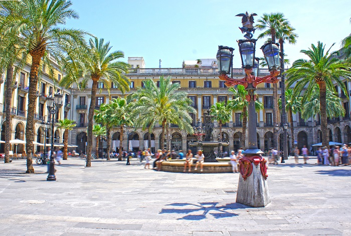 Barcellona - Plaza Real