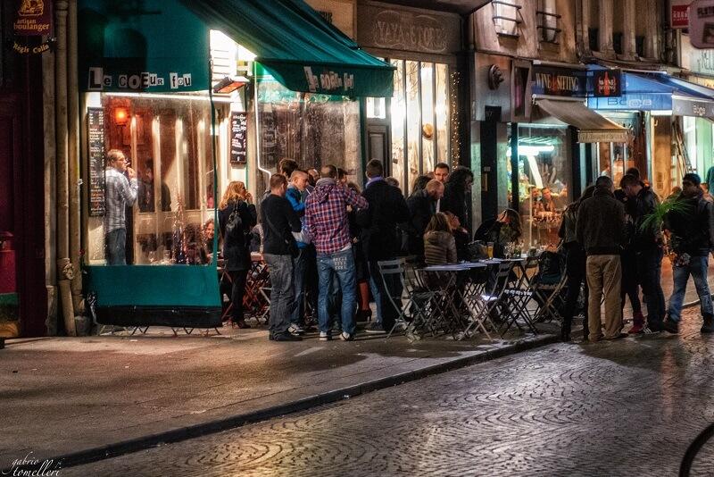 Parigi - la sera