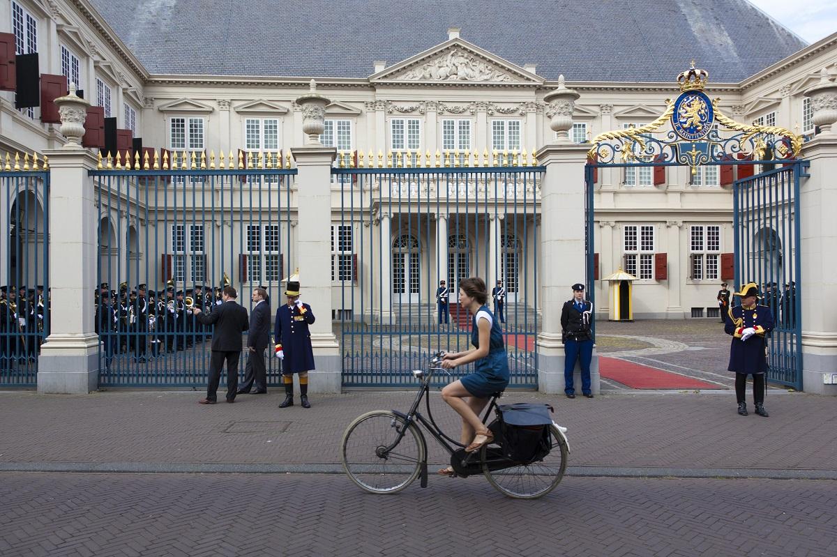L'ingresso del Palazzo Noordeinde