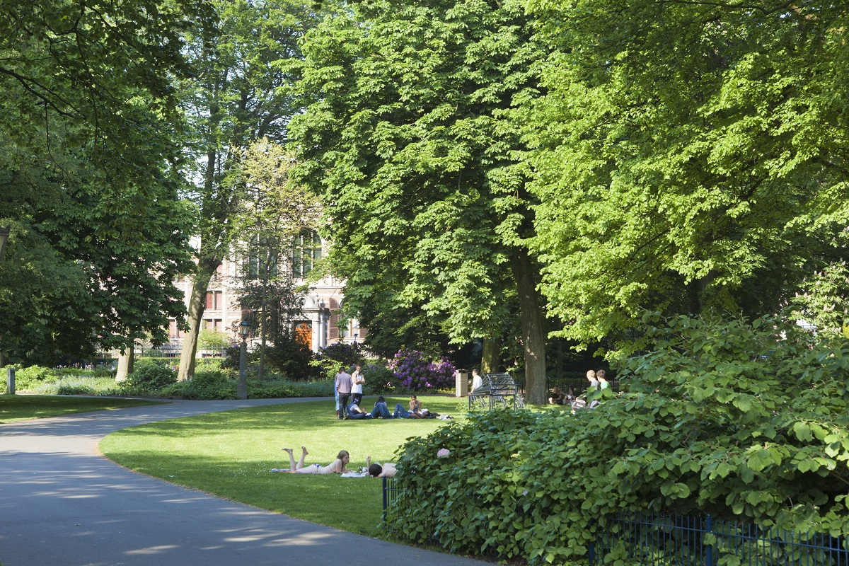 L'atmosfera rilassata dei Giardini di Palazzo