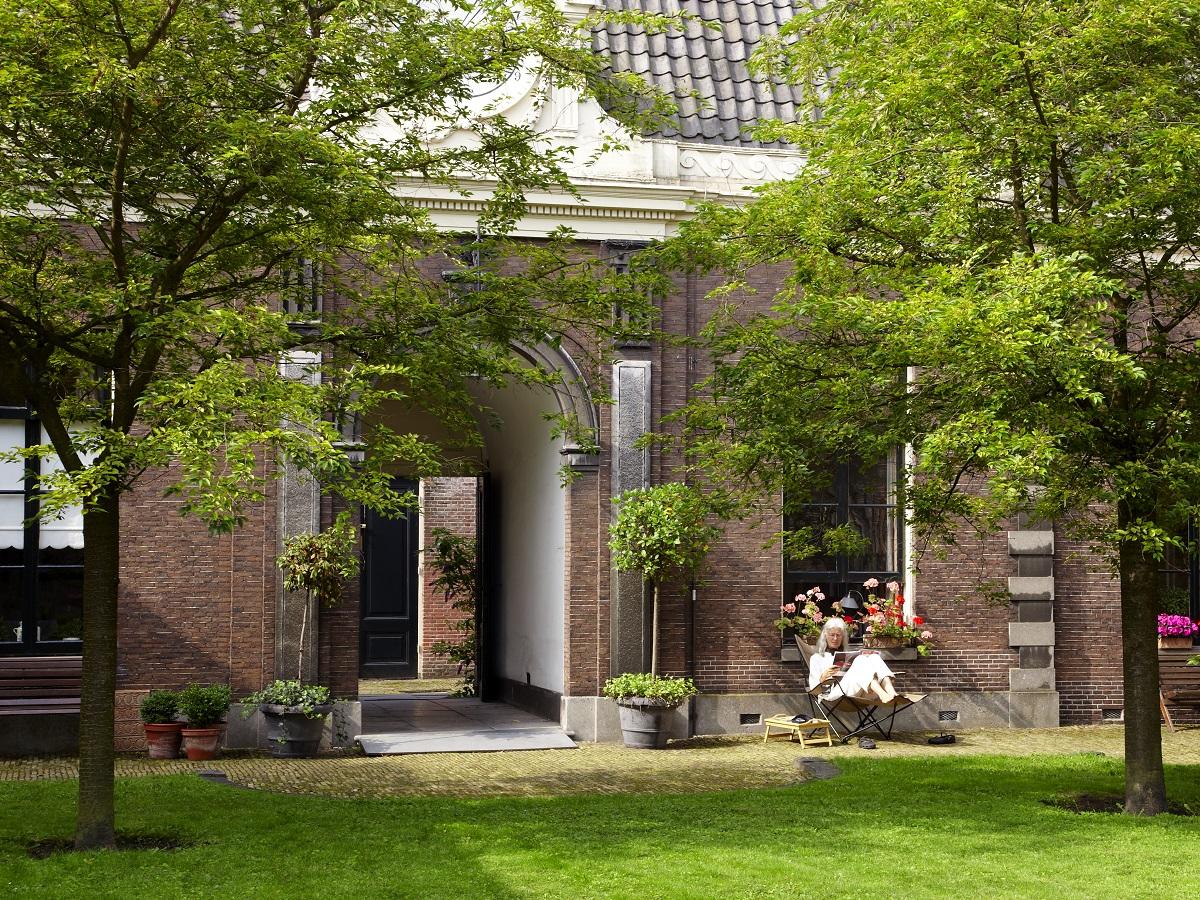 Hofje del Teylers Museum
