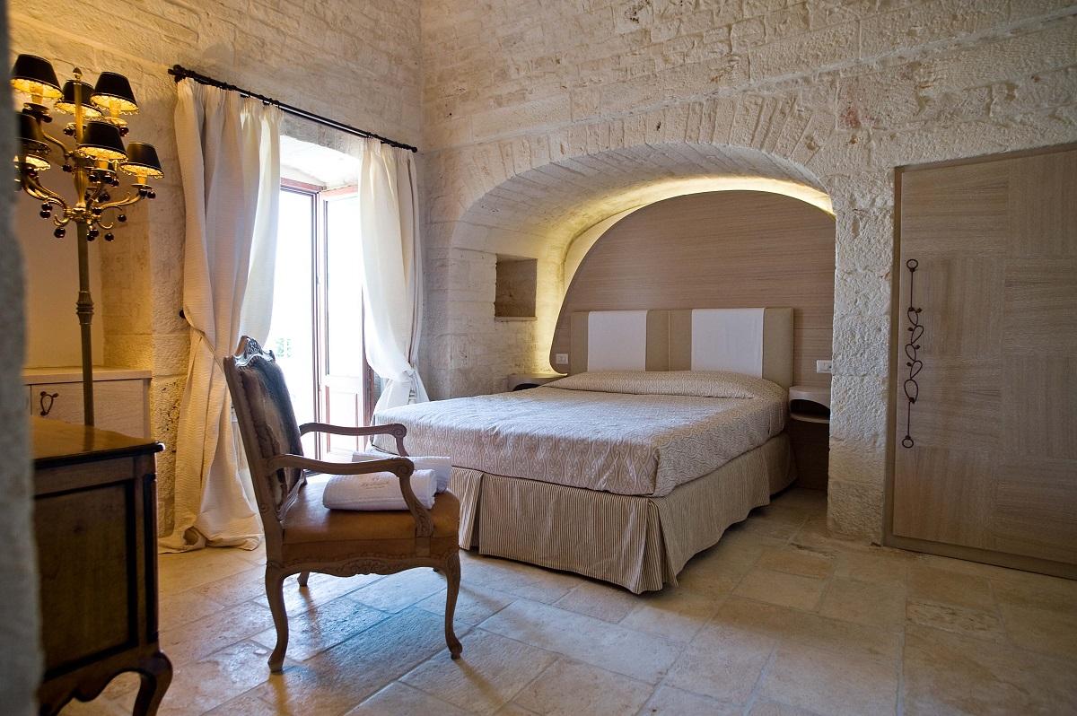 Dormire in un trullo - Alberobello, Le alcove camera