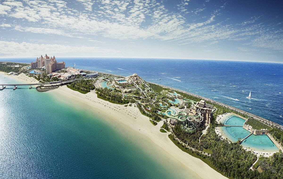 Cosa vedere a Dubai - Atlantis Hotel Aquaventure Waterpark