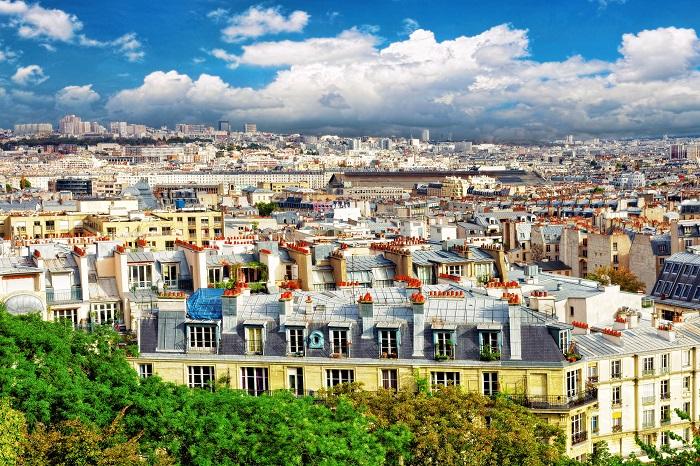 Vista da Montmartre