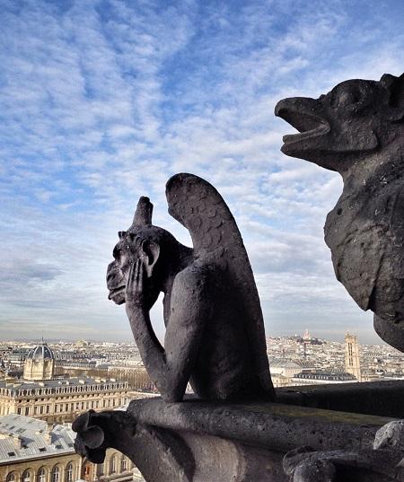 Notre Dame - un gargoyl