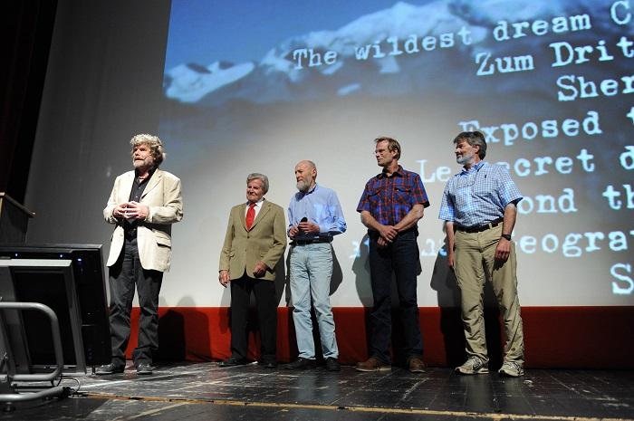 Reinhold Messner al Trento Film Festival