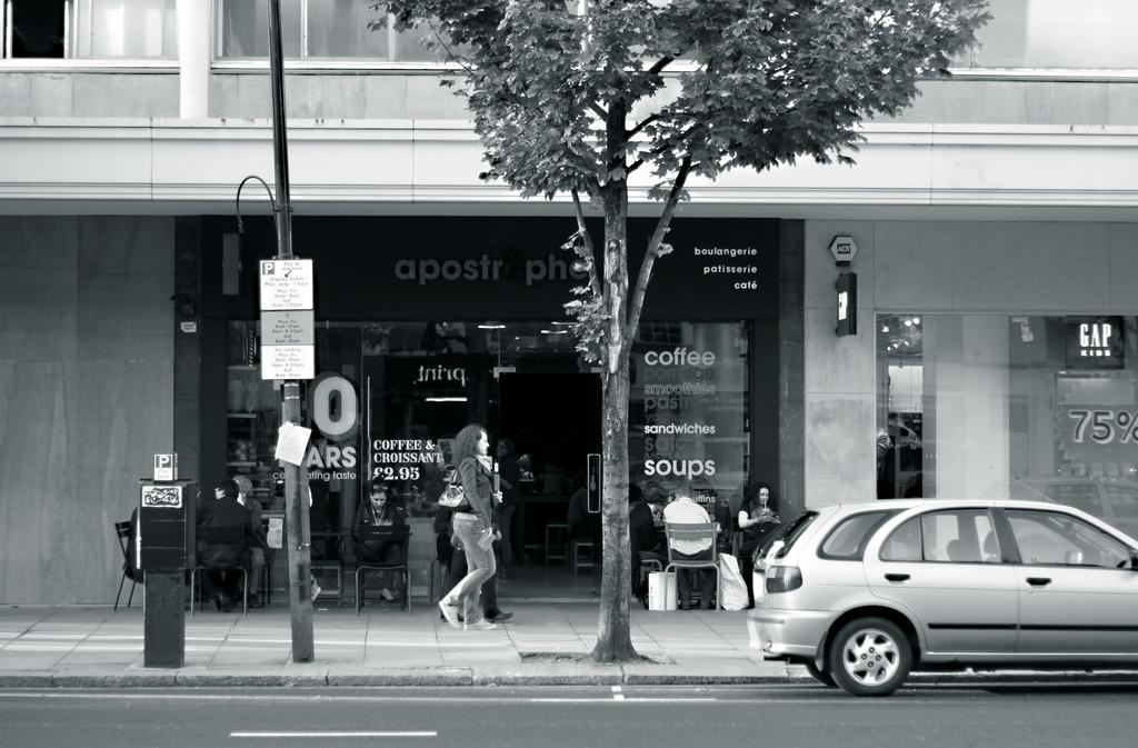 Il bianco e nero di Notting Hill