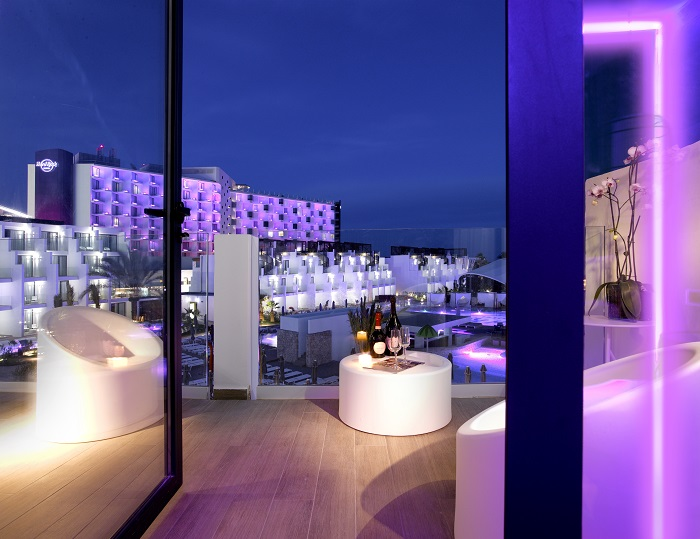 Room terrace - Hard Rock Hotel Ibiza