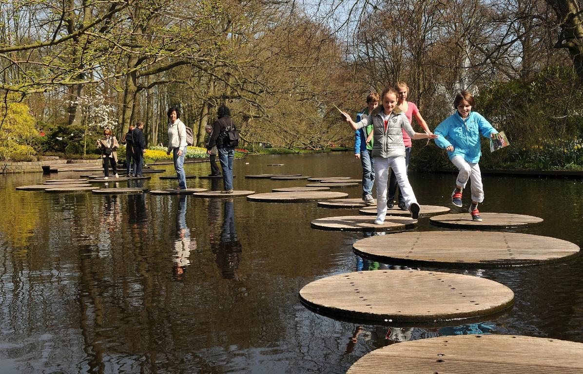 Il parco dei tulipani in Olanda: Keukenhof