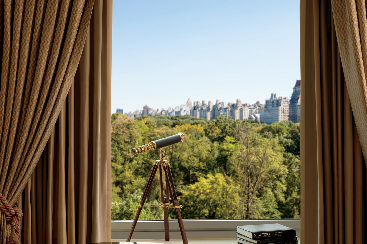 Ritz Carlton New York Central Park hotéis com vista em Nova York