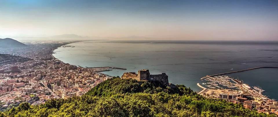 Castello di Arechi - Panoramica dalla Bastiglia