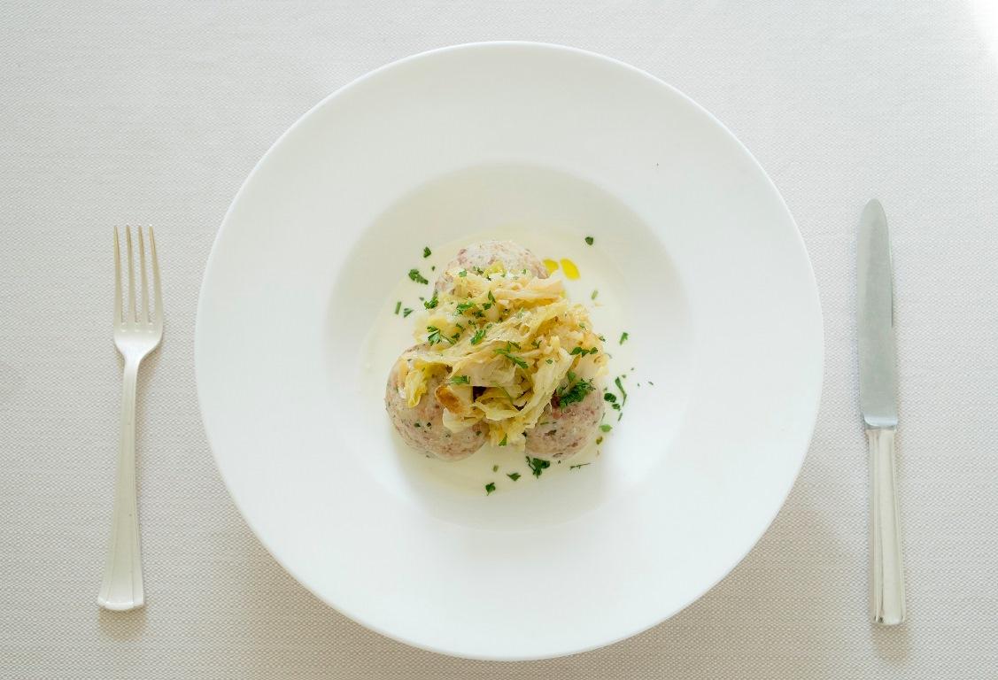 Uno dei piatti del ristorante del Eco Park Hotel Azalea