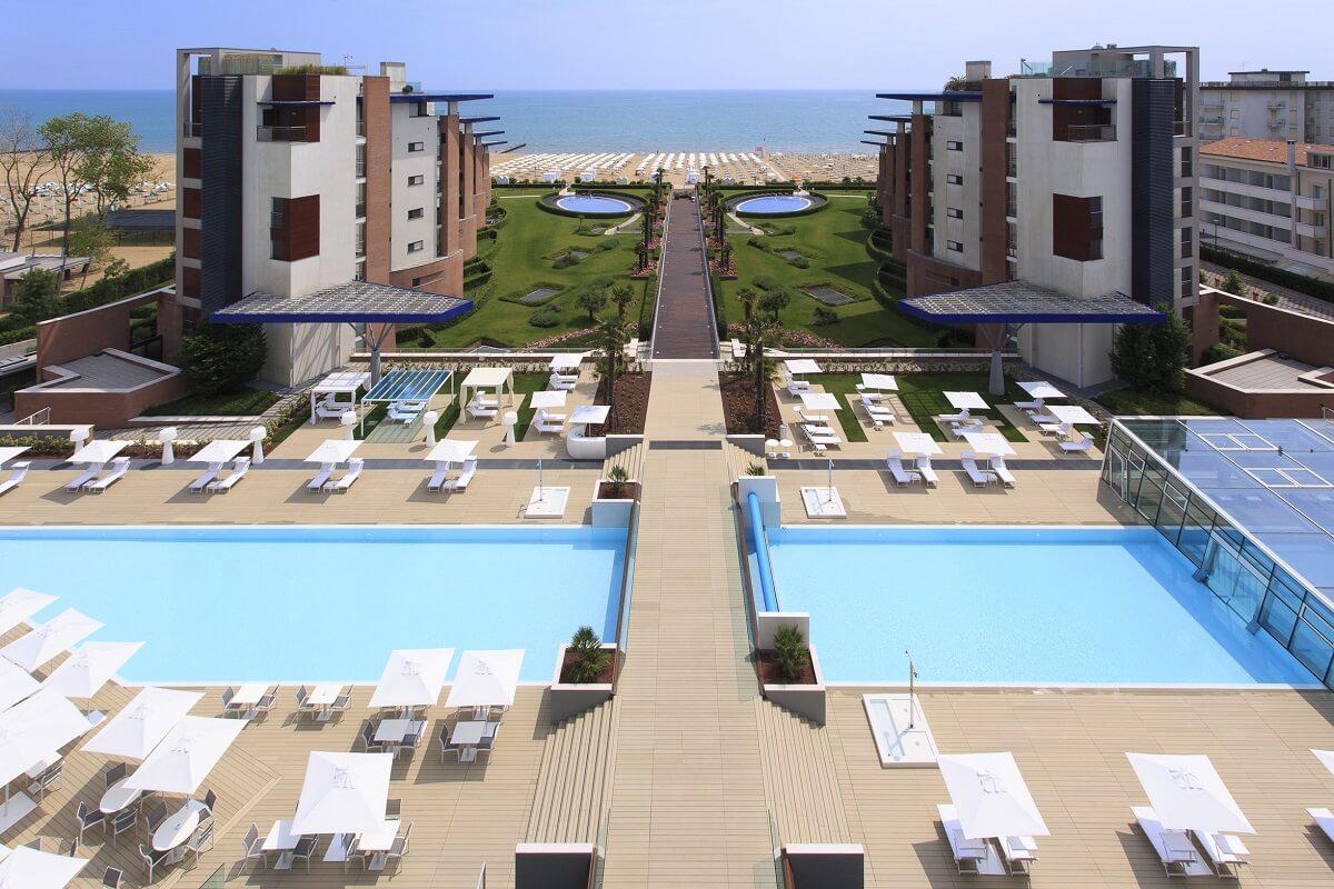 I migliori hotel sul mare in italia la classifica dell for Designhotel jesolo