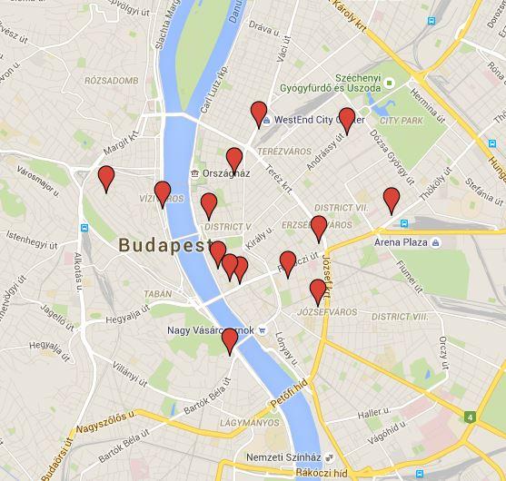 Cliccate sulla foto per scoprire su Google Maps dove si trovano gli hotel