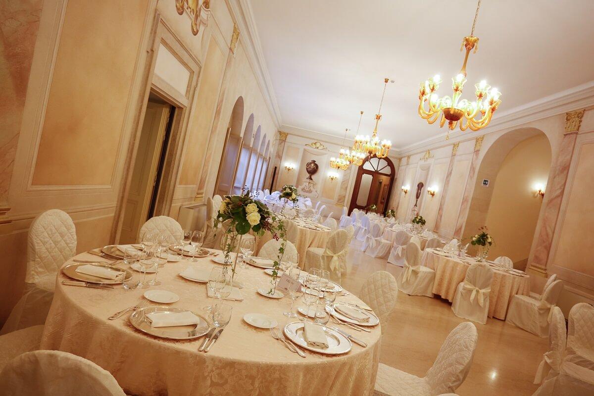 Il ristorante del Villa Fenaroli Palace Hotel
