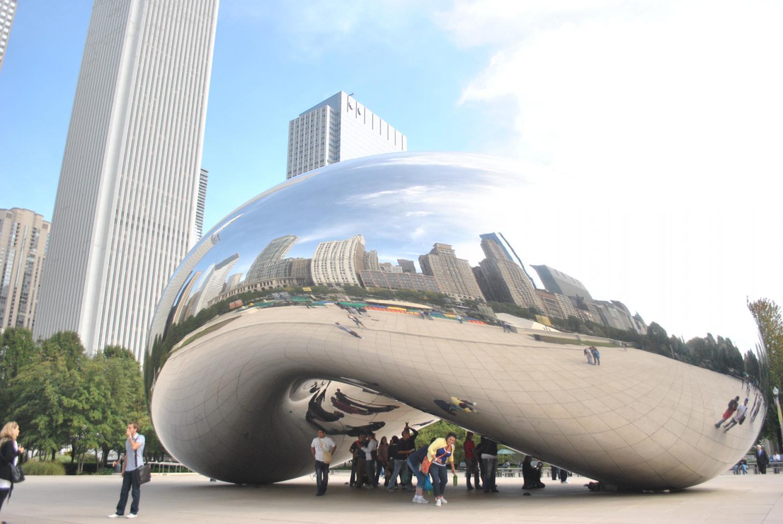 Millennial park chicago