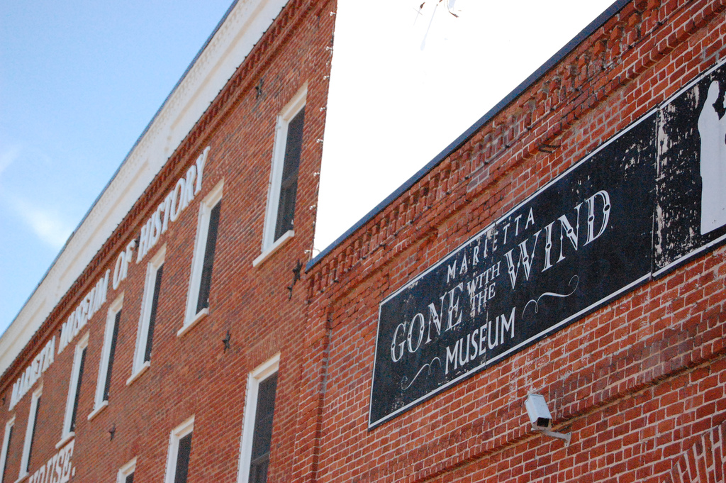 Marietta is home to the Gone With the Wind museum