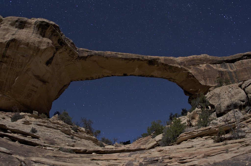 Natural Bridges National Park Stargazing