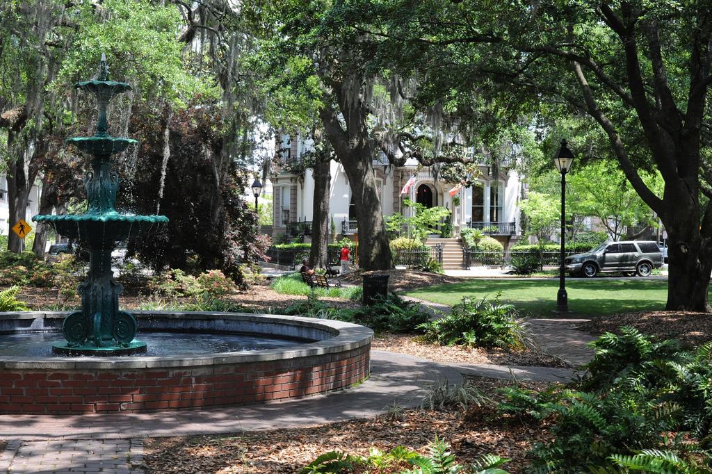 Historic Lafayette Square in Savannah