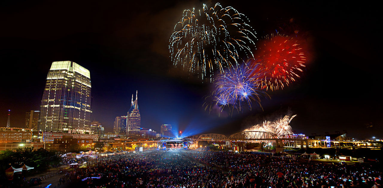 July 4 Fireworks Nashville TN