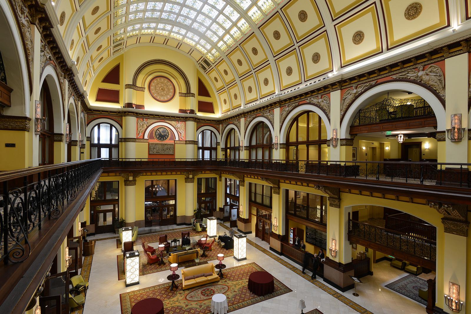 Uniton Station Hotel in Nashville, TN.