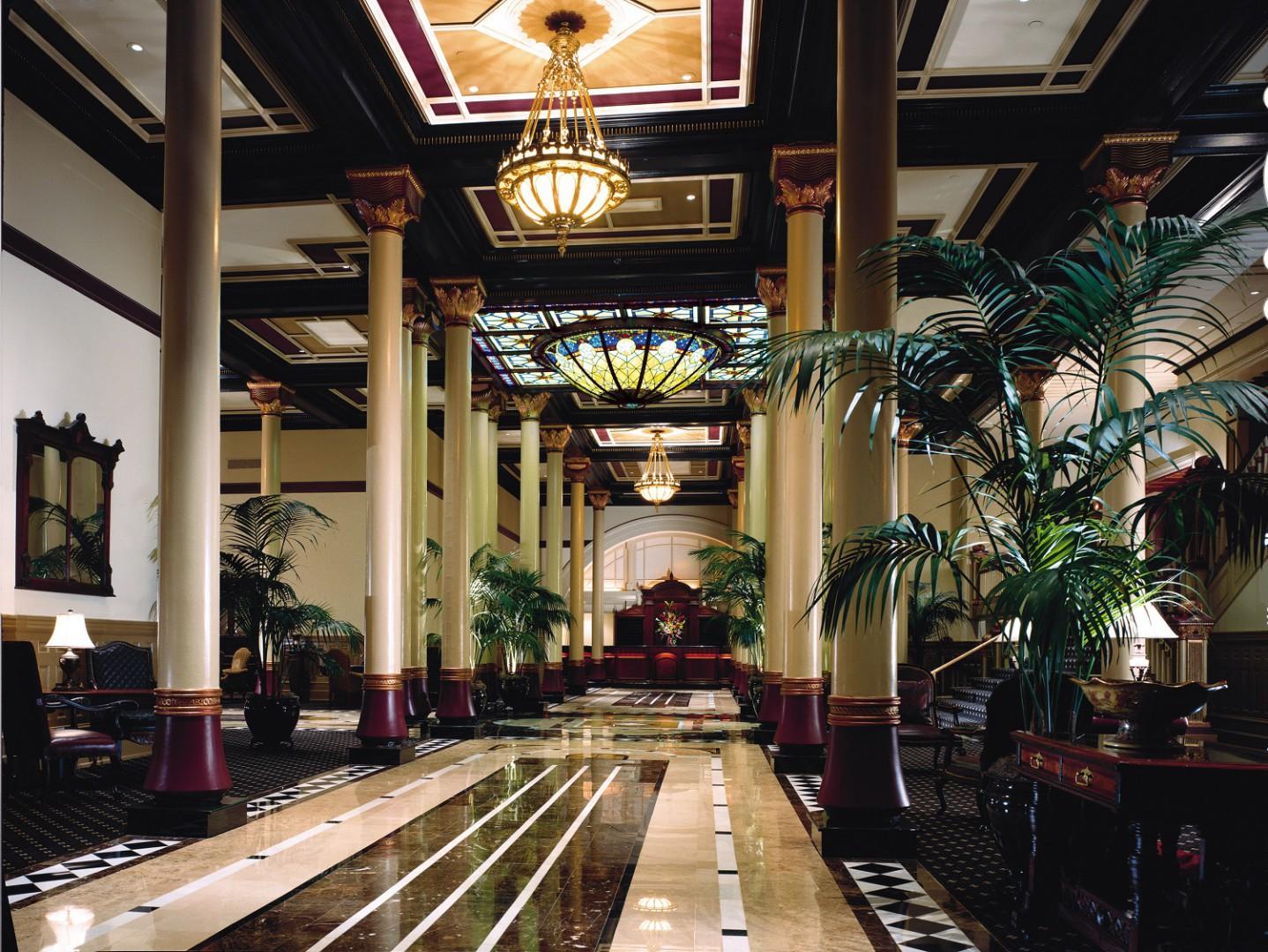 Driskill Hotel in Austin, TX.