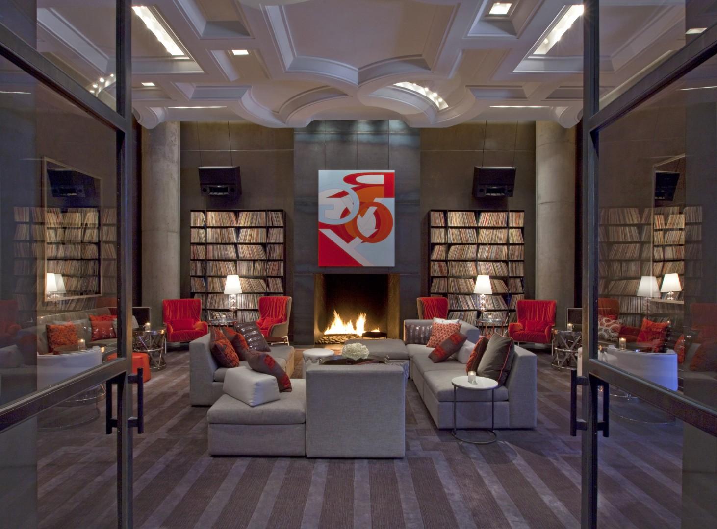 The W's modern hotel in Austin, TX.