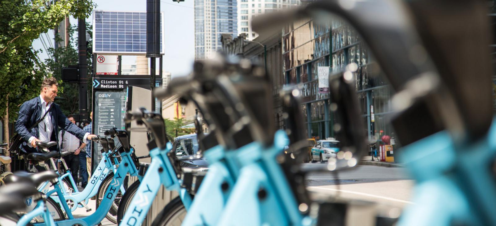 Rent a bike in Chicago