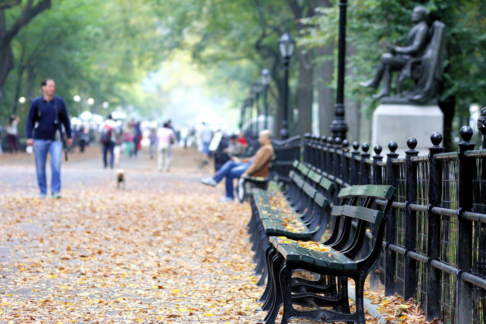 Best places to people watch NYC