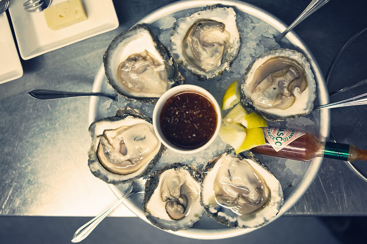 Oysters in Stockholm