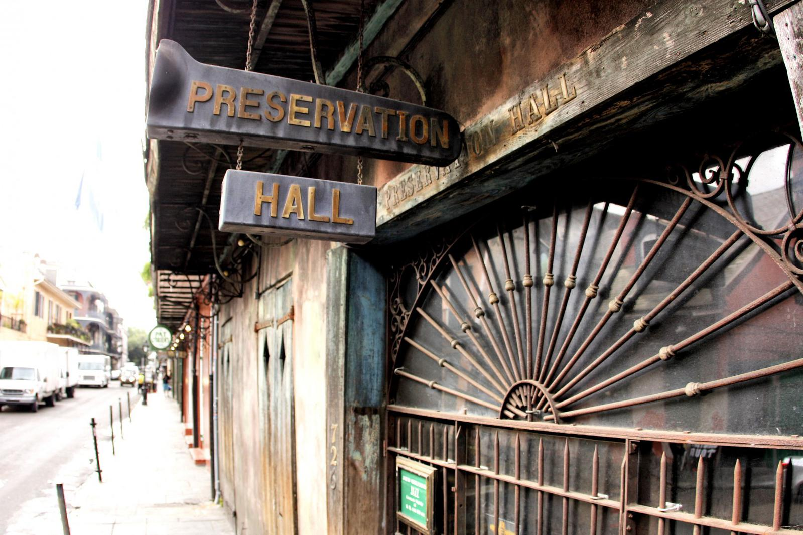 Preservation Hall New Orleans Jazz
