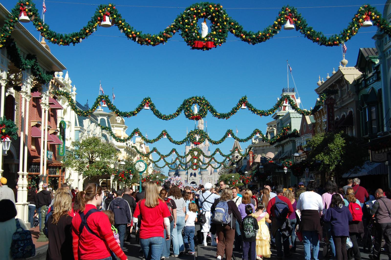 Christmas Festival at Disney World