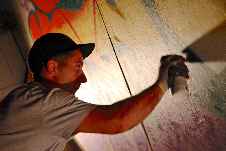 Graffiti artists Austin Texas