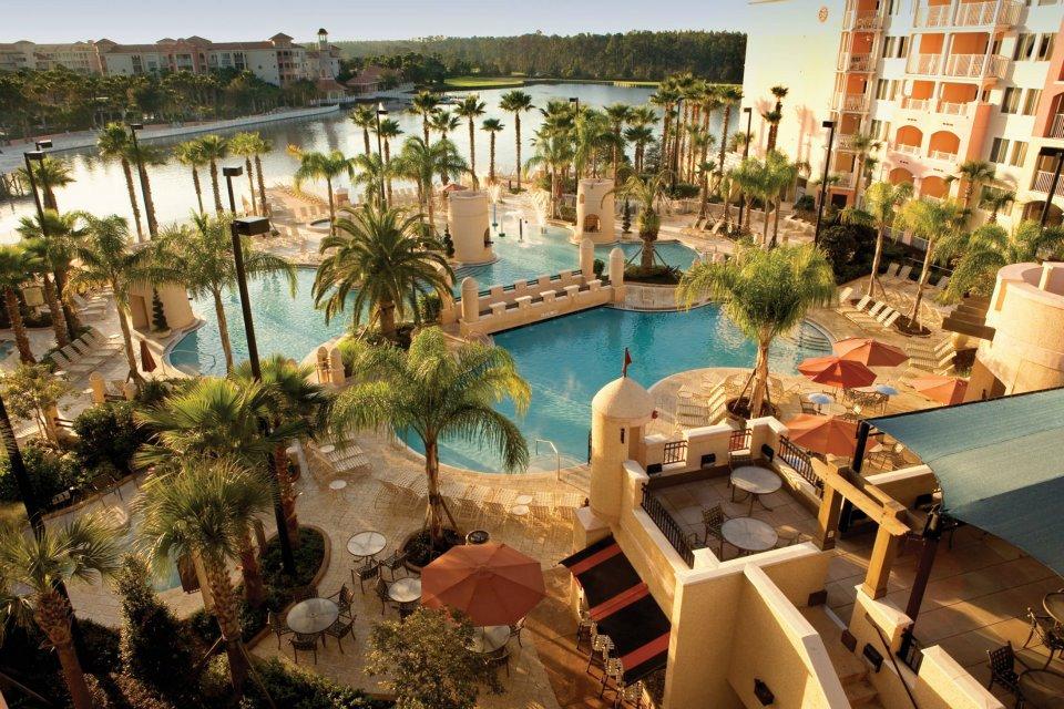 Marriot Grand Vista Hotel Pool Orlando