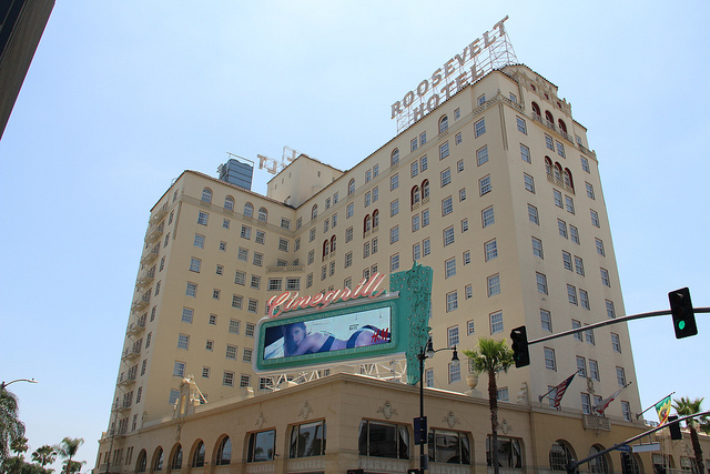 Hollywood hauntings at the Roosevelt in Calif.