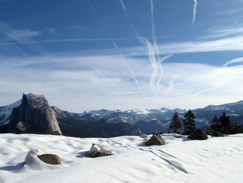 Yosemite back country skiing
