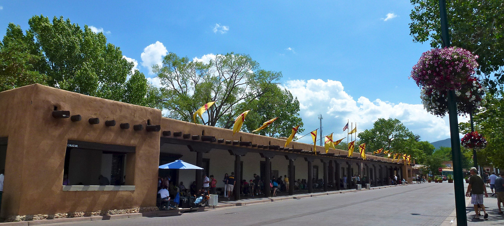 The Palace of the Governors Santa Fe