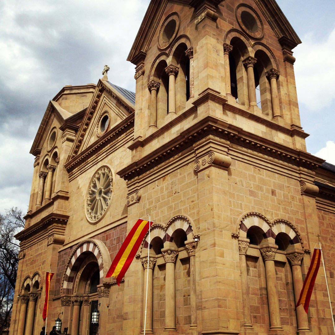 Cathedral in Santa Fe, NM