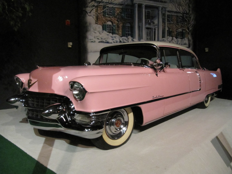 Elvis' car collection Graceland