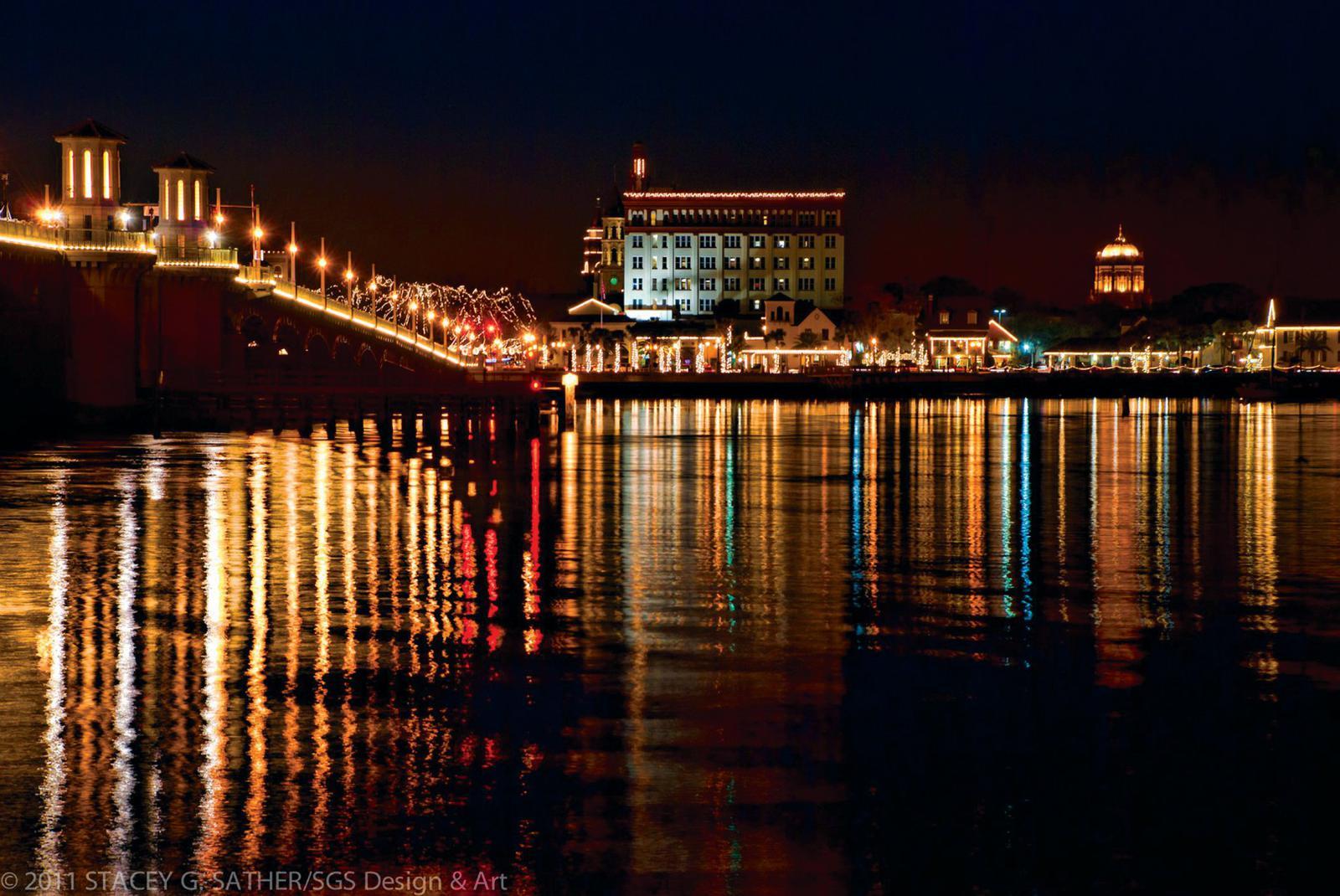St.Augustine festival of lights