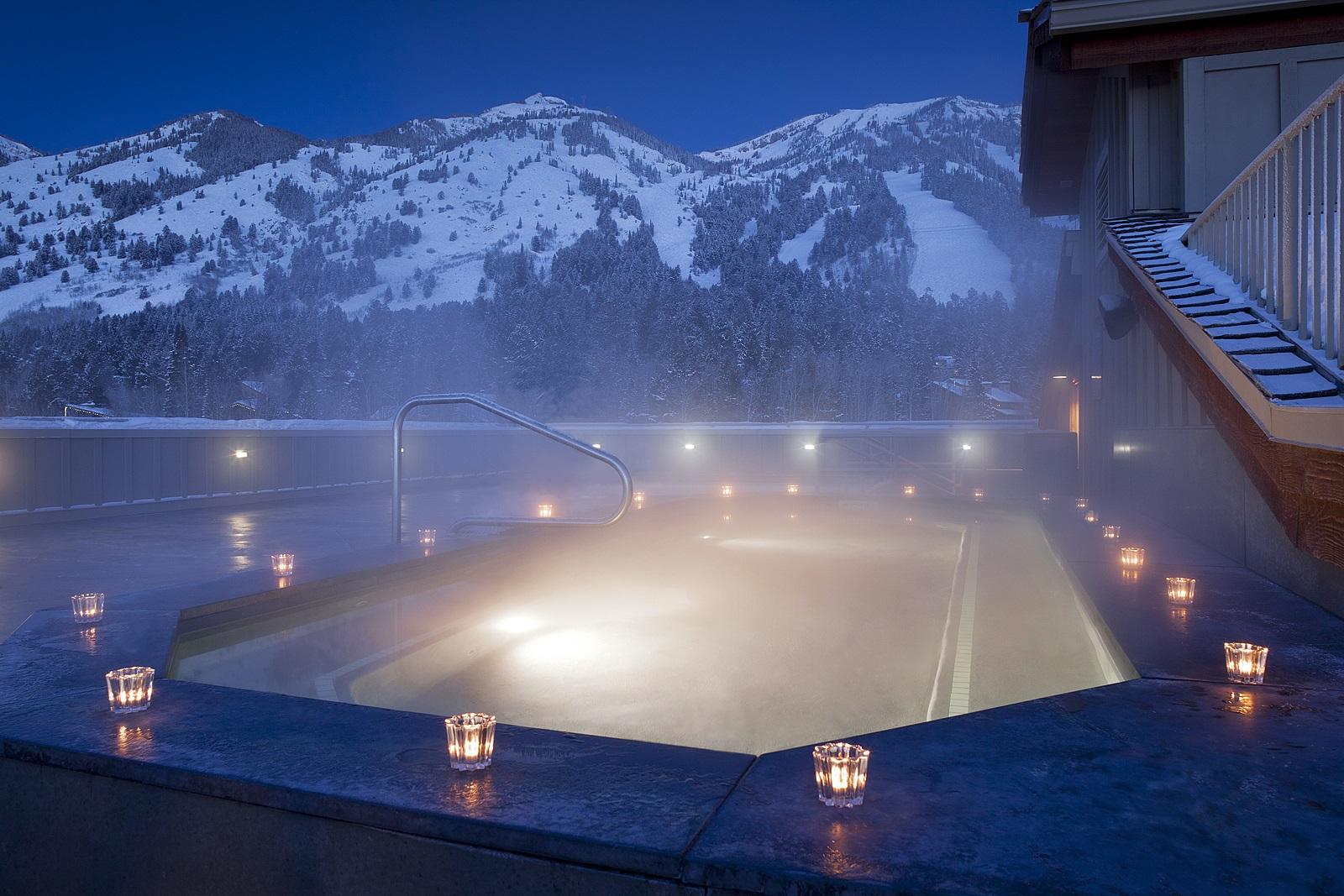 Teton Roof Hot Tub