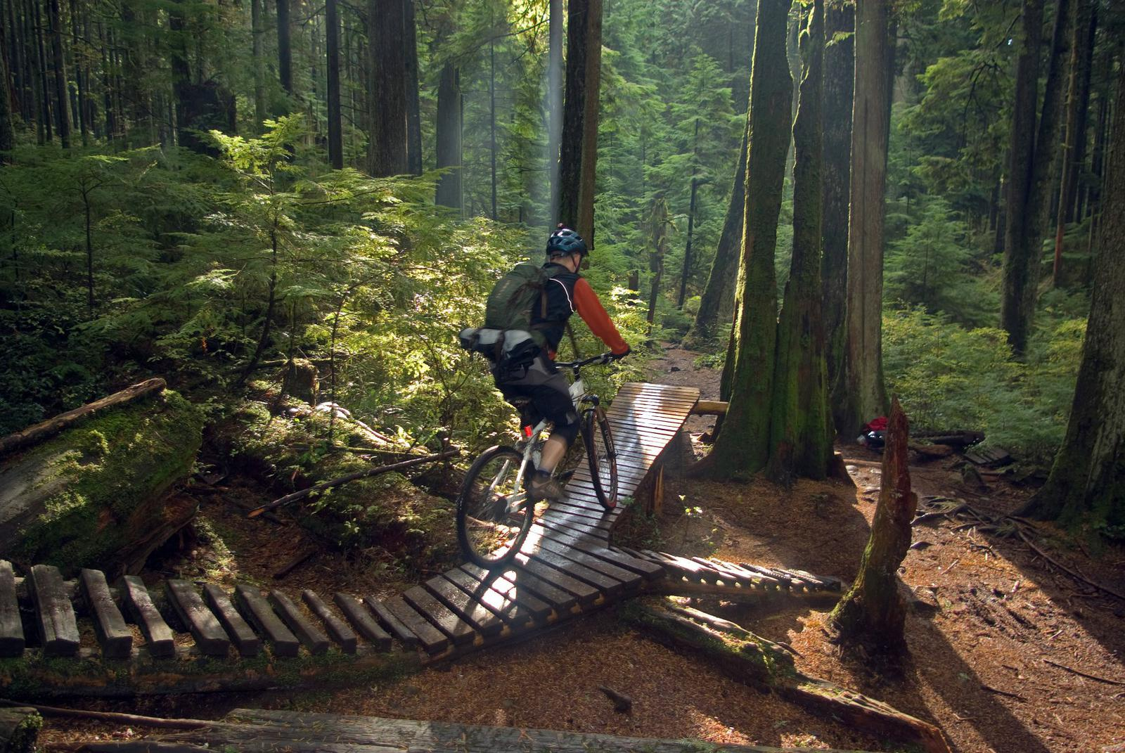 North Shore Mountain Biking Vancouver