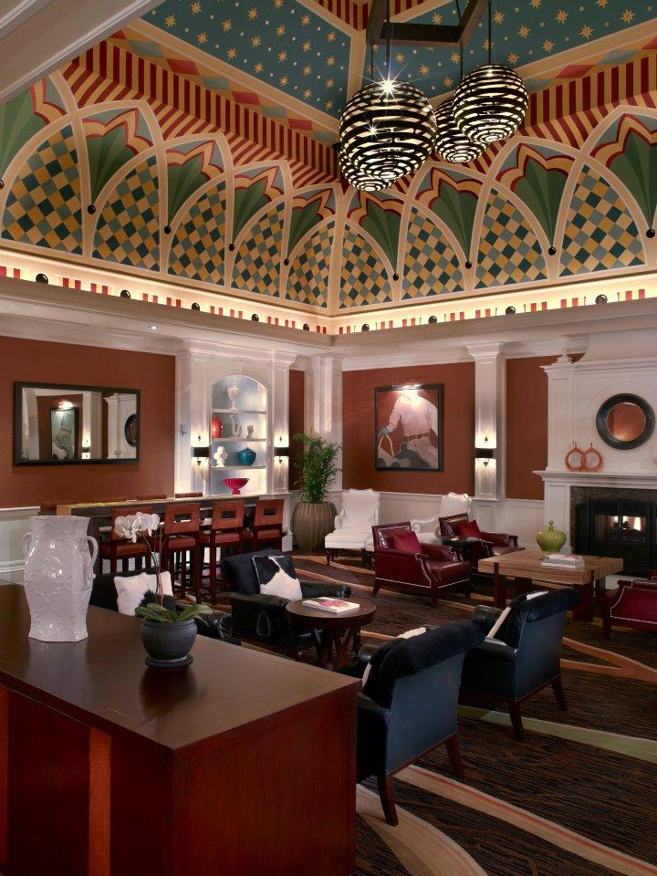 Hotel Monaco Denver Colorado Lounge