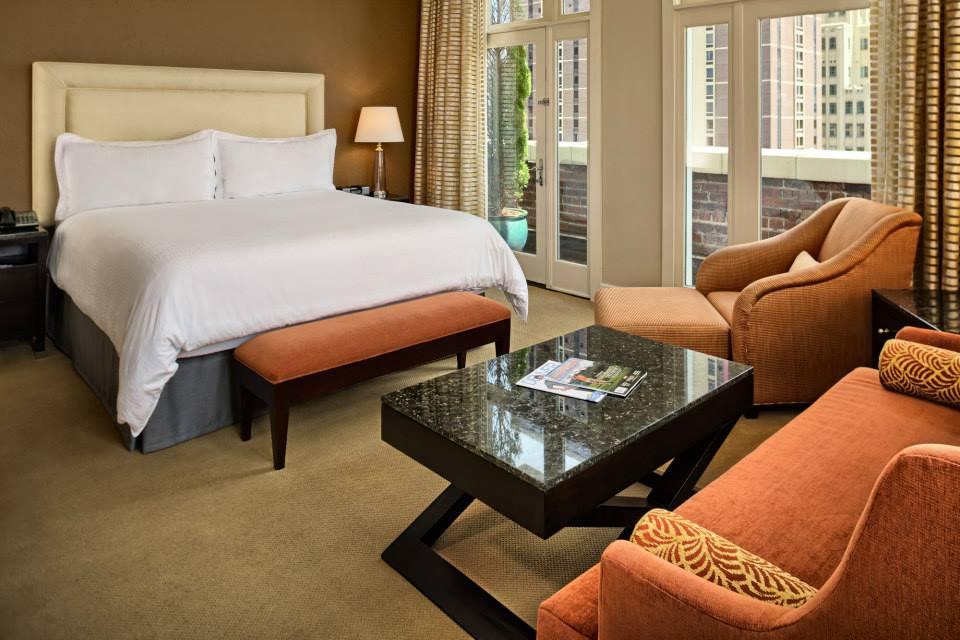 Trendiest Hotels Denver Colorado Teatro Bedroom